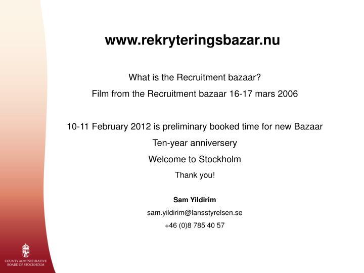 www.rekryteringsbazar.nu