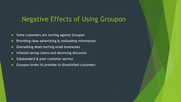 Negative Effects of Using