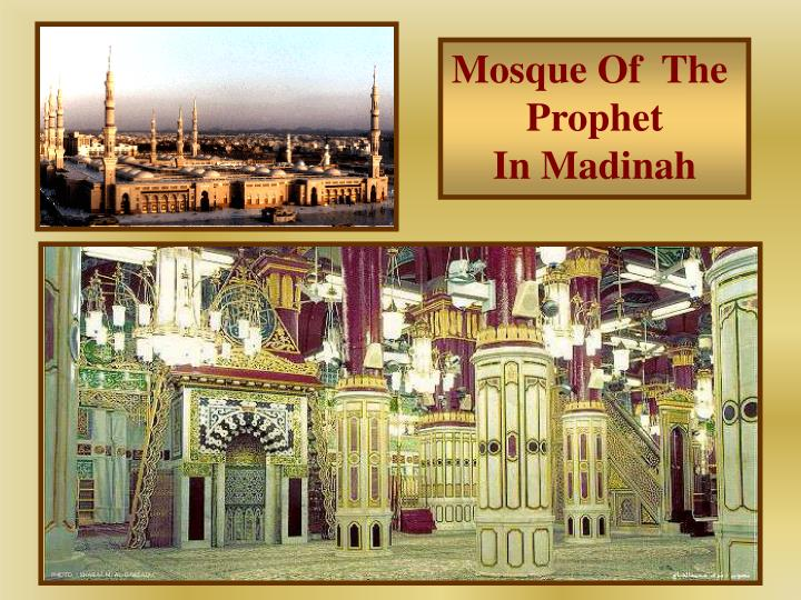 Mosque Of  The