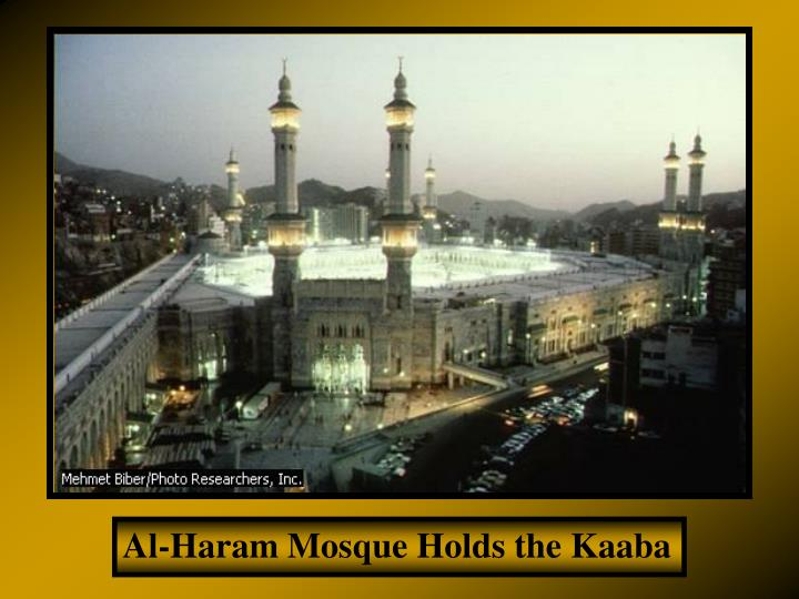 Al-Haram Mosque Holds the Kaaba