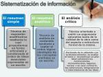 sistematizaci n de informaci n