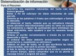 sistematizaci n de informaci n1