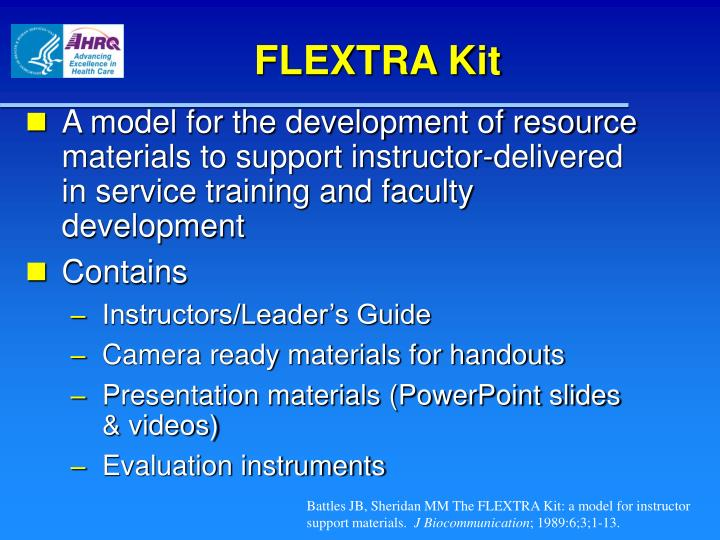 FLEXTRA Kit