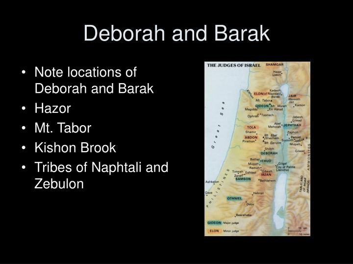 Deborah and Barak