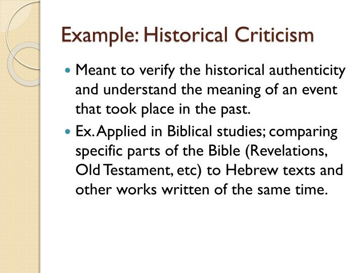 Introduction to criticism ppt video online download.