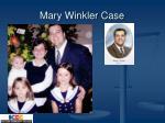 mary winkler case