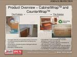 product overview cabinetwrap tm and counterwrap tm