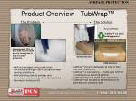 product overview tubwrap tm