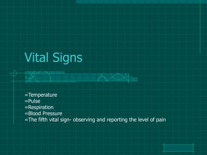 ppt - vital signs powerpoint presentation - id:2781337, Powerpoint templates