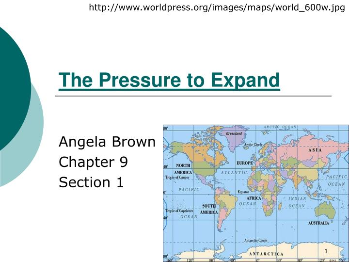 the pressure to expand