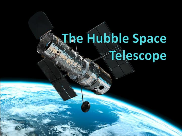 the hubble space telescope n.