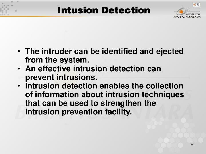 Intusion Detection