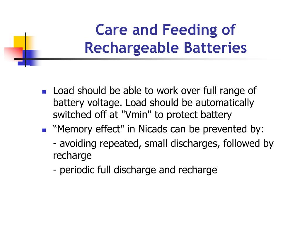 Nicad Battery Discharge Circuit