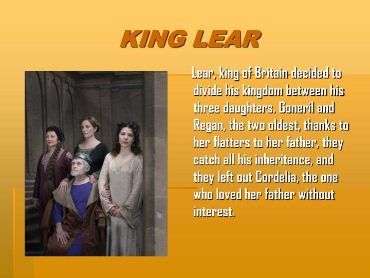 king lear natural order In modern england the older generation held power and authority over the young, yet in shakespeare's jacobean tragedy one can see the younger generation, led by goneril, regan and edmund through their attempts to seize power, and overturn the natural order.