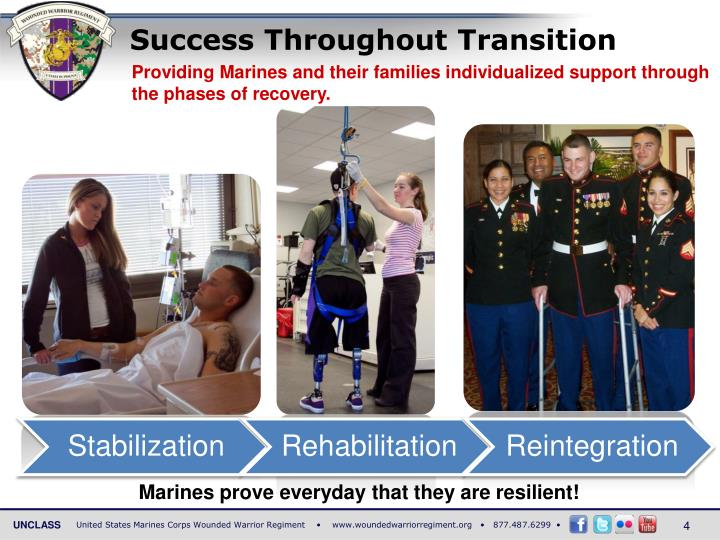 Success Throughout Transition