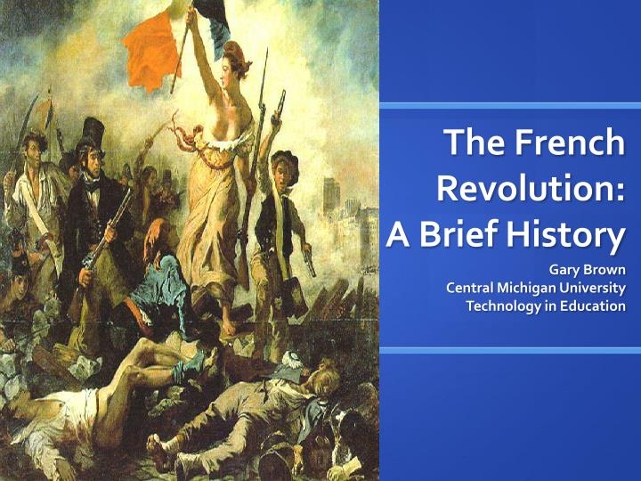 the link between scientific revolution and the french revolution