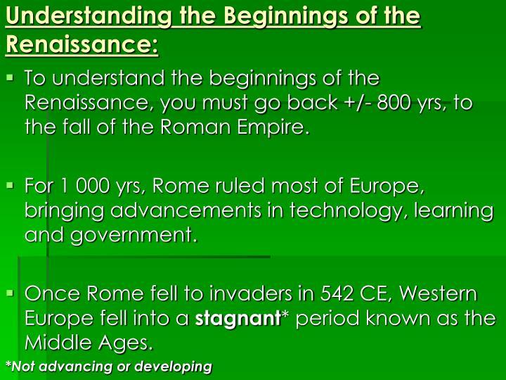 renaissance advancements