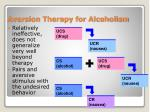aversion therapy for alcoholism