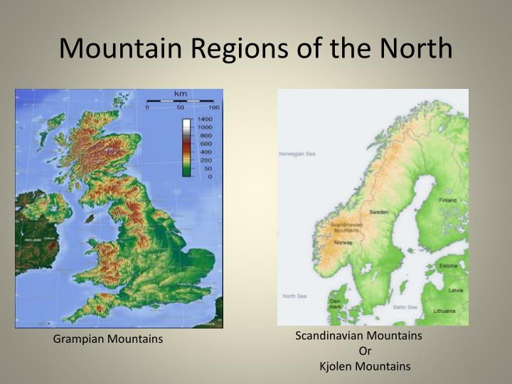Mountain Regions of the North