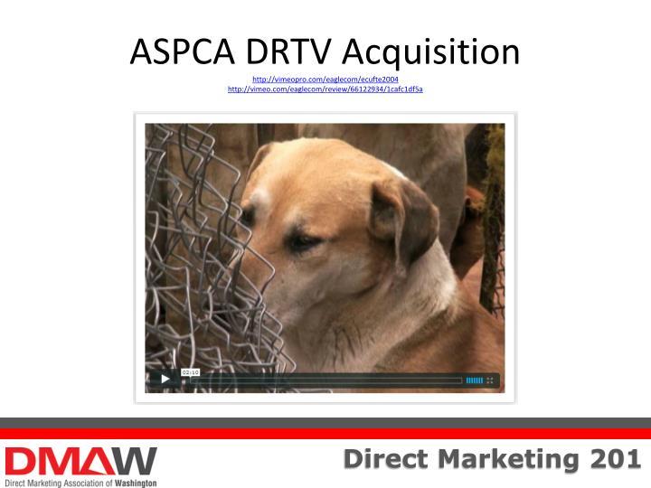 ASPCA DRTV Acquisition