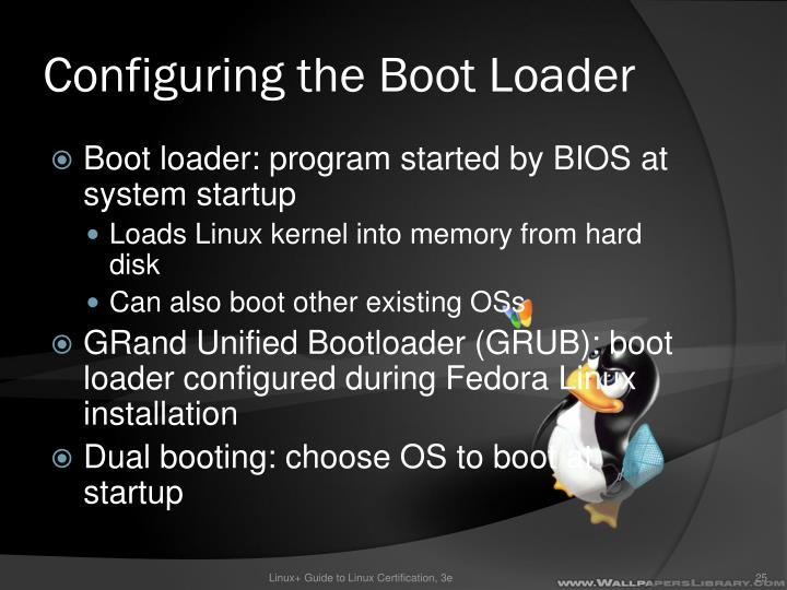 Configuring the Boot Loader