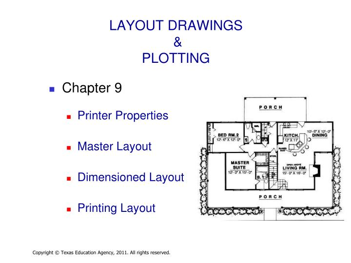 LAYOUT DRAWINGS