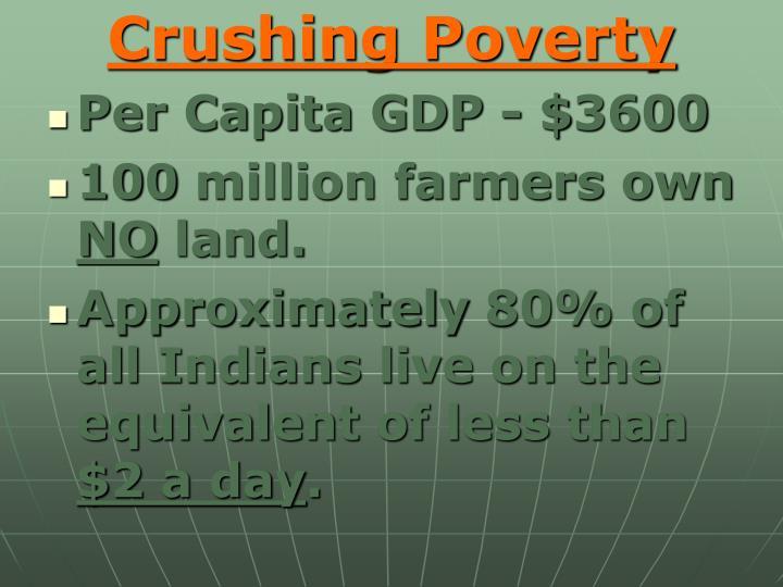 Crushing Poverty