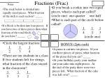 fractions frac