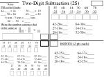 two digit subtraction 2s