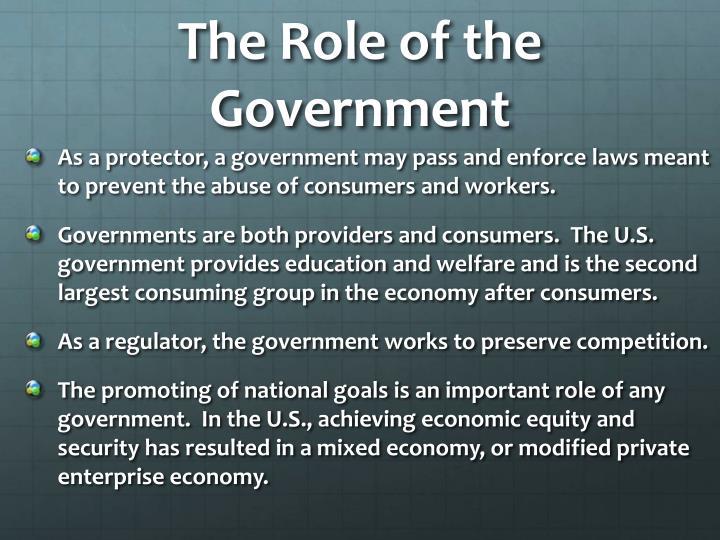 modified private enterprise economy