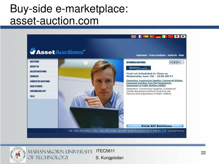 Buy-side e-marketplace:
