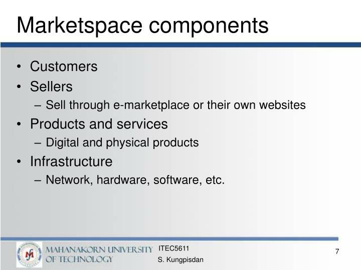 Marketspace components