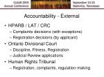 accountability external