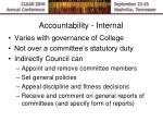 accountability internal