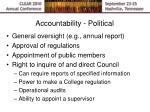 accountability political