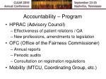 accountability program