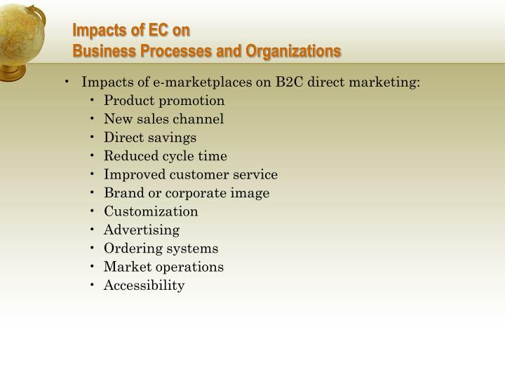 Impacts of EC on