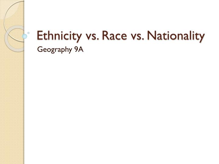 the difference in race and ethnicity What is the difference between race and ethnicity race is defined as a group that is socially set apart because of obvious physical differences the southern states have more of the hispanic/latino race than a lot of the northern states where there seems to be more wide spread racial diversity.