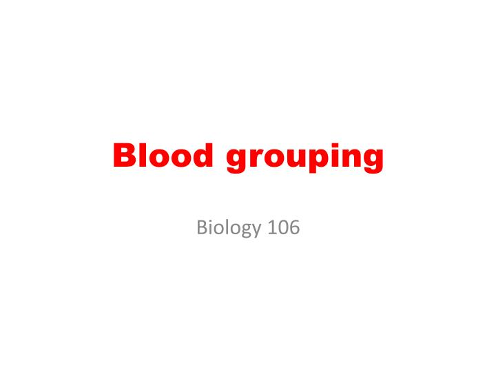 biologi rapport om blodtypesystemer essay Choose from thousands of products that convert the latest innovations into robust, easy-to-use research tools click here to visit our website.