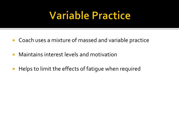Variable Practice