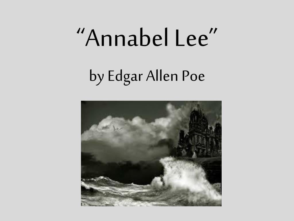 Annabel lee essay