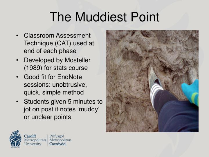 The Muddiest Point
