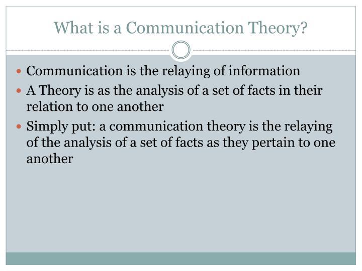 muted group theory communication