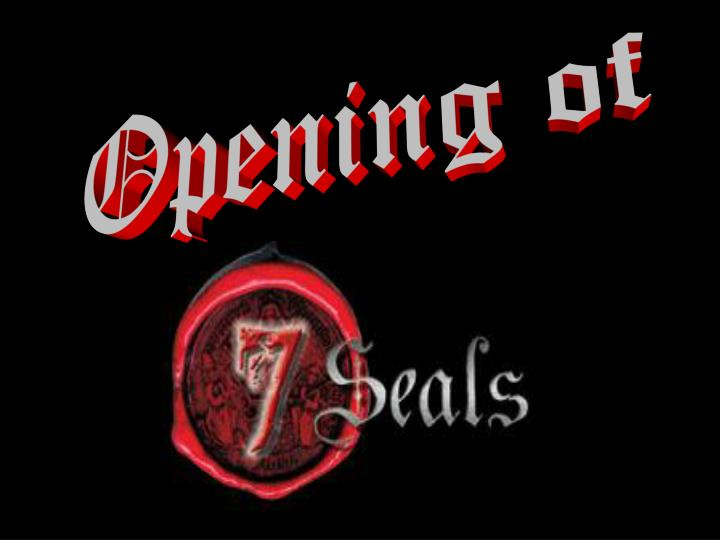Opening of
