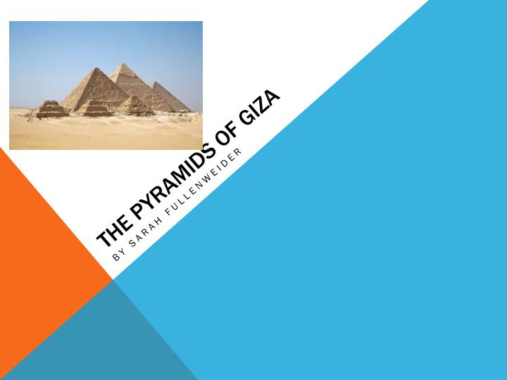 the pyramids of giza n.