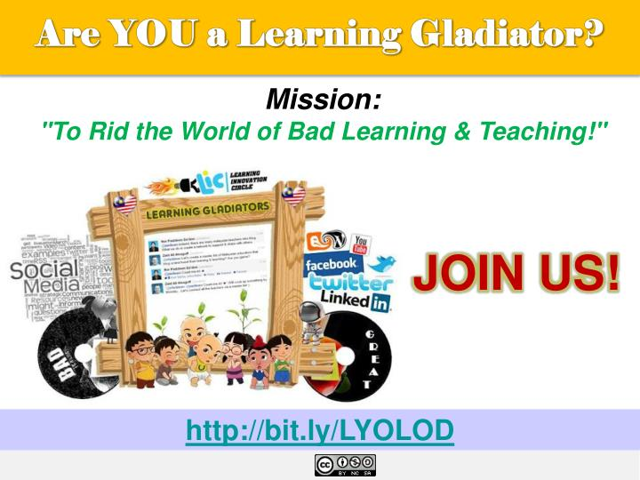 Are YOU a Learning Gladiator?