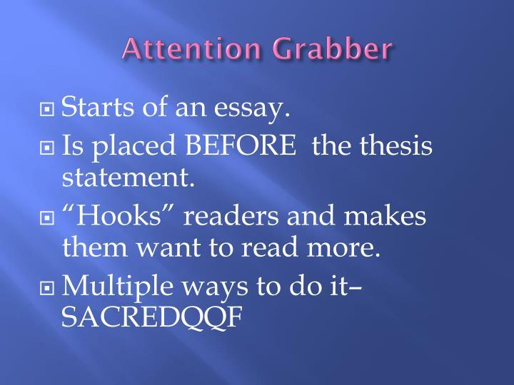 grabber statement