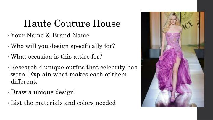 Haute couture house