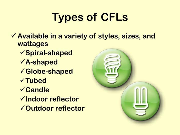 Types of CFLs