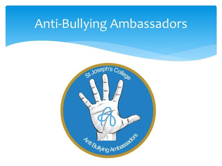 Anti-Bullying Ambassadors